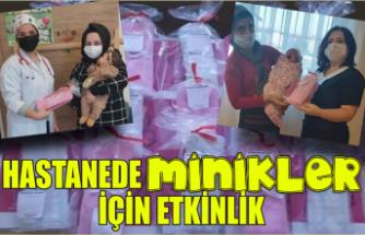 Hastanede anneler ve yenidoğanlar için etkinlik düzenlendi