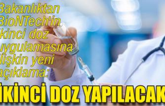 BioNTech'in ikinci doz uygulamasına ilişkin yeni açıklama!