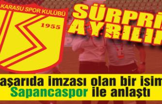 Karasuspor'da sürpriz ayrılık!