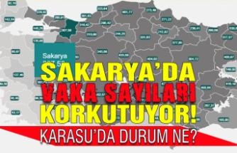 Sakarya'da günlük vaka sayıları korkutuyor! Peki Karasu'da durum ne?