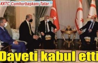 Cumhurbaşkanı Tatar : 'Sakarya'ya geleceğim'