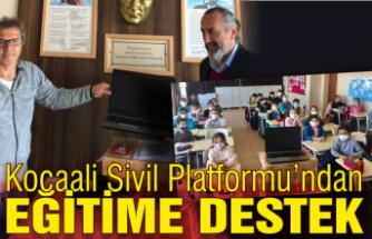 Kocaali Sivil Toplum Platformu'ndan eğitime destek