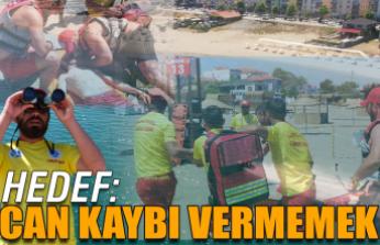 """Büyükşehir, kuzey sahillerinde """"hayat"""" nöbetine başladı"""