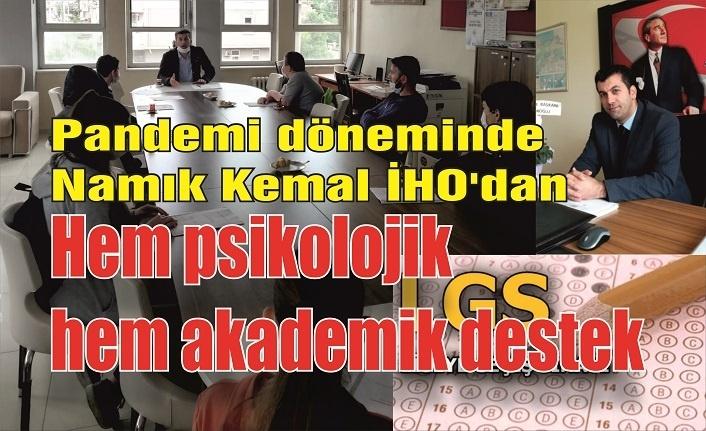 Namık Kemal İHO'dan  hem psikolojik hem akademik destek